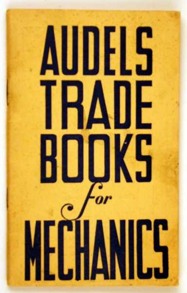 Image for Audels Trade Books for Mechanics