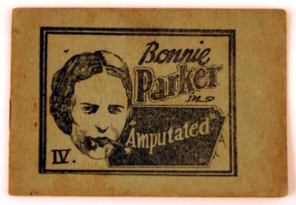 "Image for Bonnie Parker in ""Amputated"" (Tijuana Bible)"
