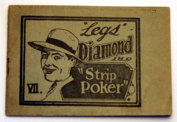 "Image for ""Legs"" Diamond in ""Strip Poker"" VII. (Tijuana Bible, 8-Pager)"