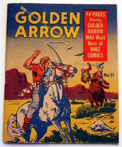 Image for Golden Arrow #11A (Mighty Midget Comics)