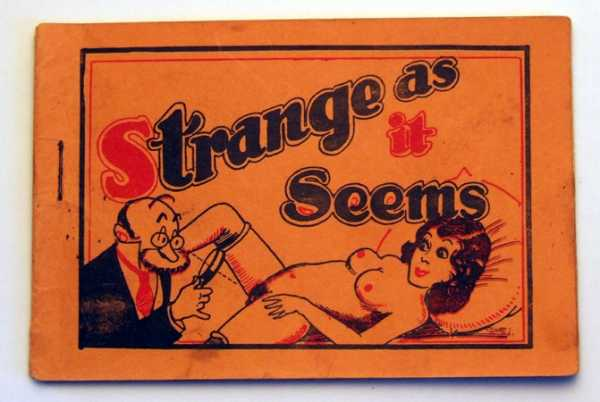 Image for Strange As It Seems (Tijuana Bible, 8-Pager)