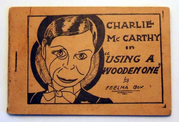 "Image for Charlie McCarthy in ""Using a Wooden One"" by Feelma Box (Tijuana Bible, 8-Pager)"