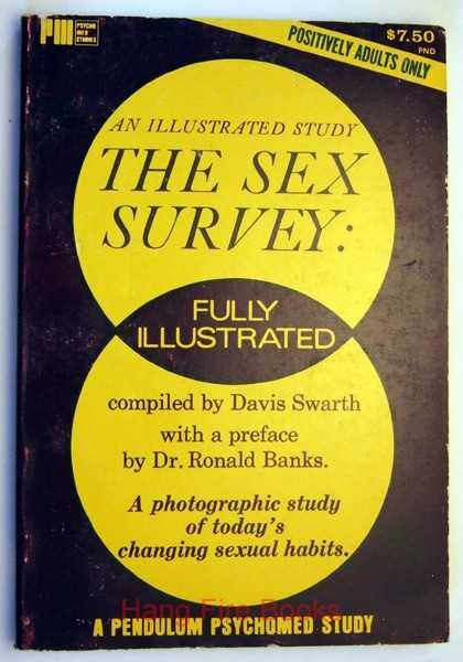 Image for The Sex Survey: A Photographic Study of Today's Changing Sexual Habits, An Illustrated Study