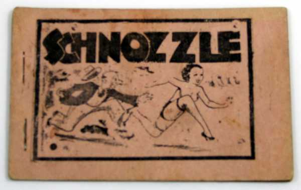 Image for Schnozzle (Jimmy Durante) (Tijuana Bible, 8-Pager)