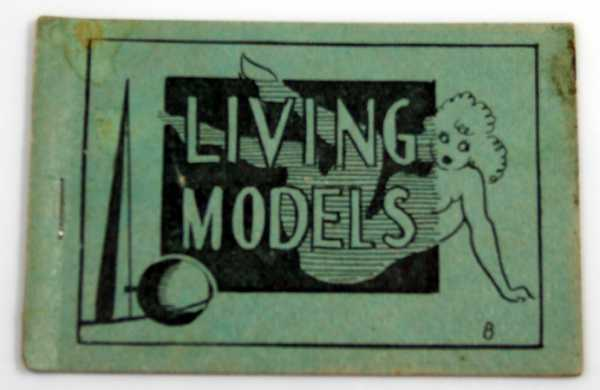 Image for Living Models (1939 World's Fair) (Tijuana Bible, 8-Pager)