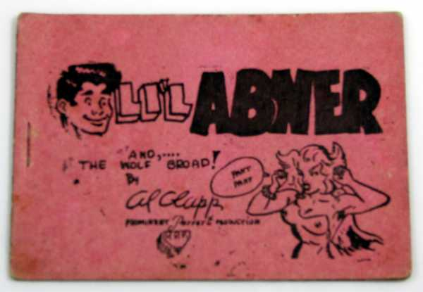 Image for LiL Abner and the Wolf Broad! (Tijuana Bible, 8-Pager)