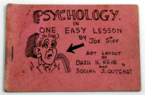 Image for Psychology in One Easy Lesson (Tijuana Bible, 8-Pager)