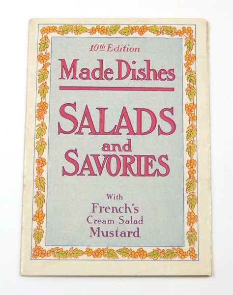Image for Made Dishes: Salads and Savories with French's Cream Salad Mustard, 10th Edition