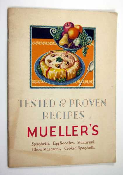Image for Tested & Proven Recipes From Mueller's