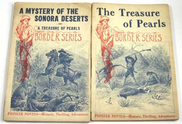 Image for A Mystery of the Sonora Deserts; or, A Treasure of Pearls (Pioneer Novels: Border Series)
