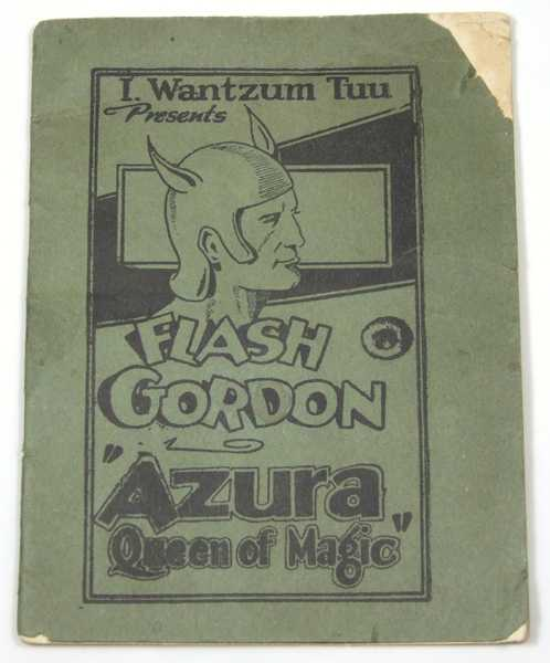 "Image for Flash Gordon ""Azura, Queen of Magic"" (Tijuana Bible, 8-Pager)"