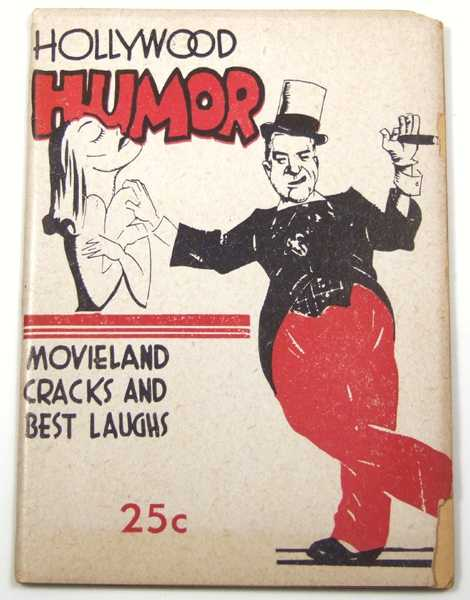 Image for Hollywood Humor: Movieland Cracks and Best Laughs (Joke Book)