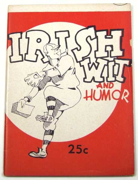 Image for Irish Wit and Humor (Joke Book)