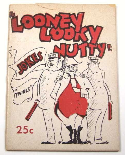 "Image for Looney Looky Nutty: Jokes ""Twirls"" (Joke Book)"