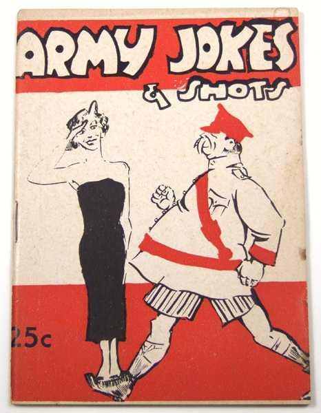Image for Army Jokes & Shots (Joke Book)