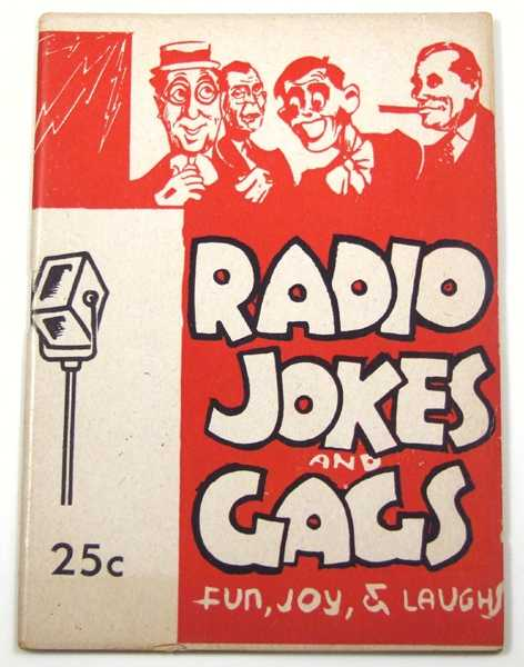 Image for Radio Jokes and Gags (Joke Book)
