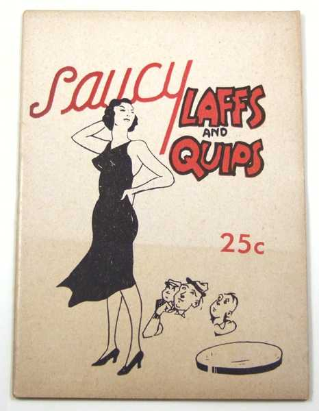Image for Saucy Laffs and Quips (Joke Book)
