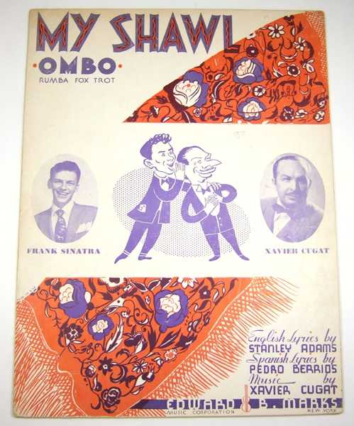 Image for My Shawl (Ombo), Fox Trot [Sheet Music]