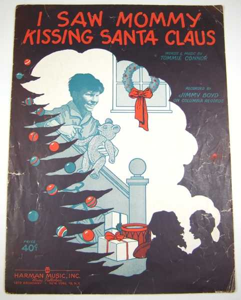 Image for I Saw Mommy Kissing Santa Claus [Sheet Music]