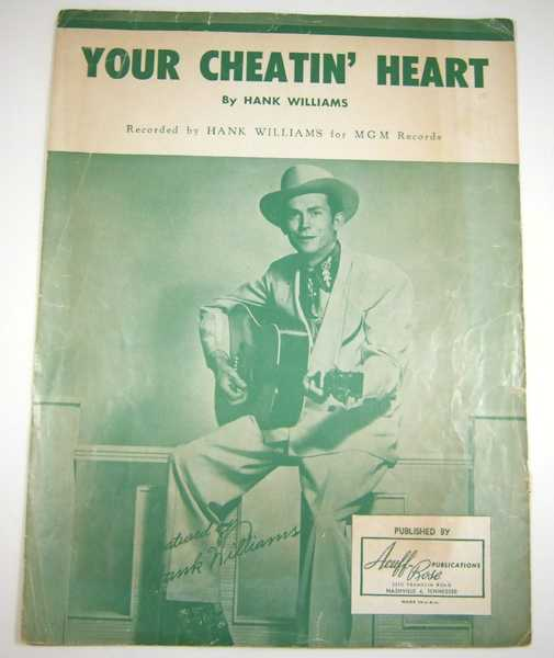 Image for Your Cheatin' Heart [Sheet Music]