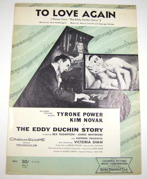 "Image for To Love Again (Theme from ""The Eddy Duchin Story"") [Sheet Music]"