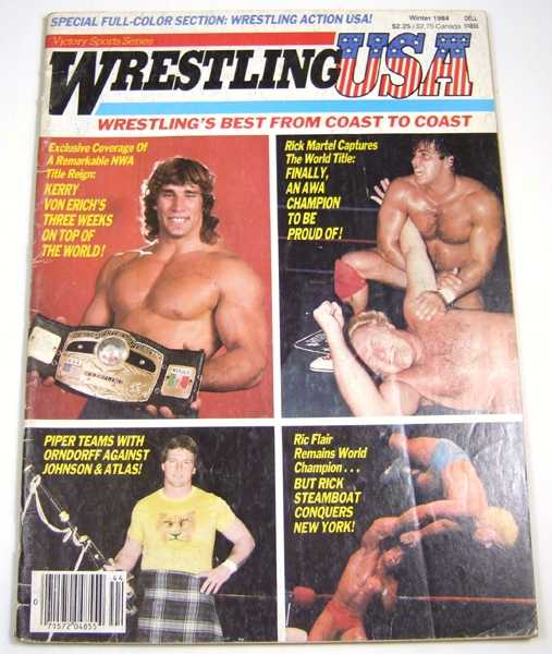 Image for Wrestling USA (Winter, 1984)