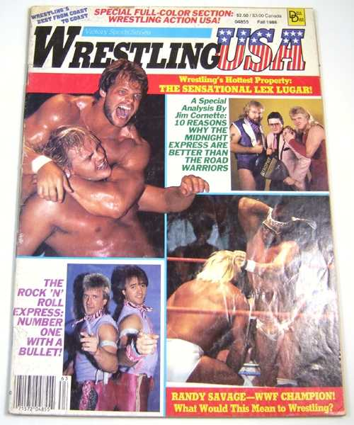 Image for Wrestling USA (Fall, 1986)