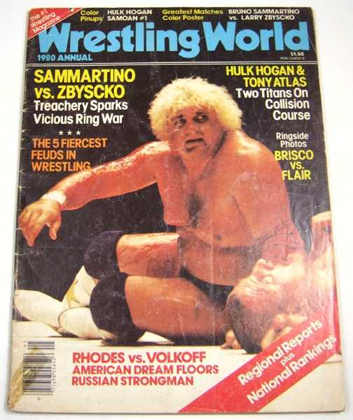 Image for Wrestling World (1980 Annual)