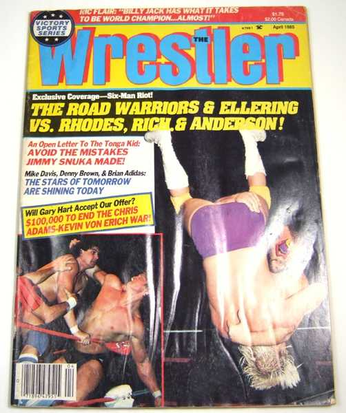Image for The Wrestler (April, 1985)