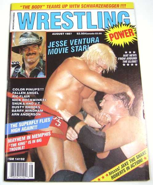 Image for Wrestling Power (August, 1987)