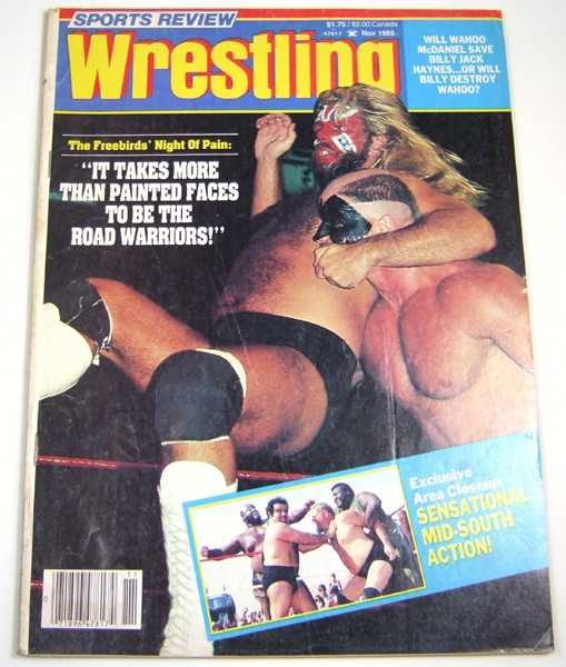 Image for Sports Review Wrestling (November, 1985)