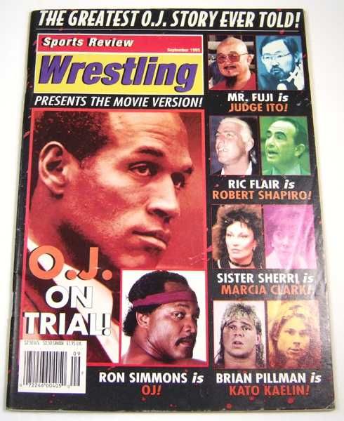 Image for Sports Review Wrestling (September, 1995)