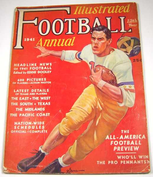 Image for Illustrated Football Annual, 1941
