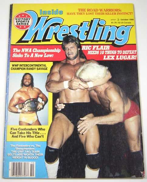 Image for Inside Wrestling (October, 1986)