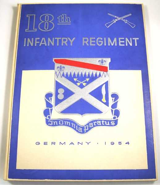 Image for 18th Infantry Regiment, 1st Infantry Division, Germany 1954