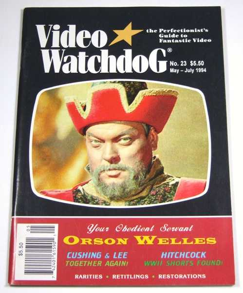 Image for Video Watchdog #23 (May-July, 1994)