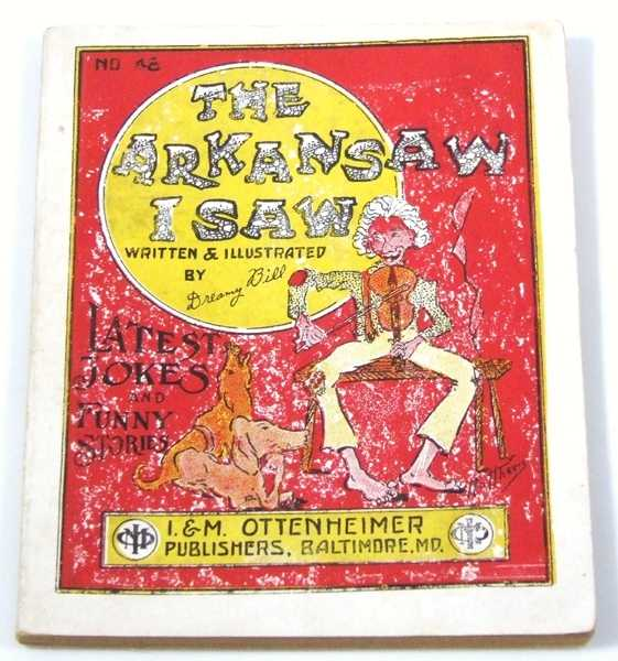 Image for The Arkansaw (Arkansas) I Saw: Latest Jokes and Funny Stories