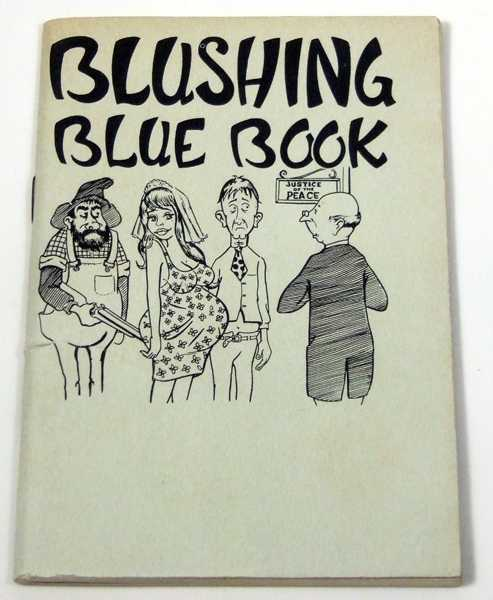 Image for Blushing Blue Book