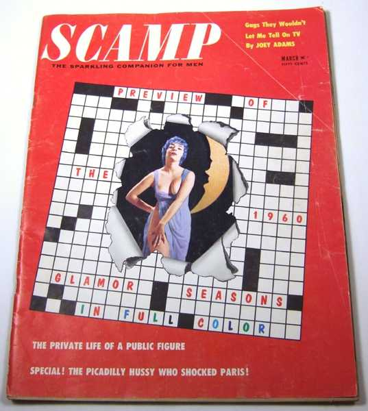 Image for Scamp: The Sparkling Companion for Men (Vol. 3, No. 5, March, 1960)
