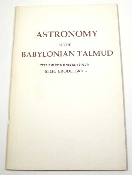 Image for Astronomy in the Babylonian Talmud