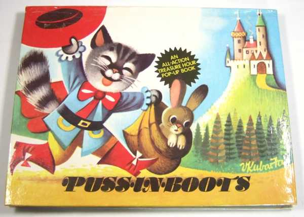 Image for Puss-In-Boots: An All-Action Treasure Hour Pop-Up Book