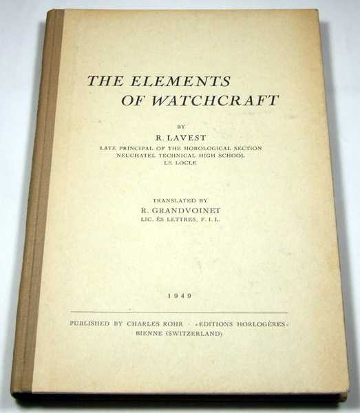 Image for The Elements of Watchcraft