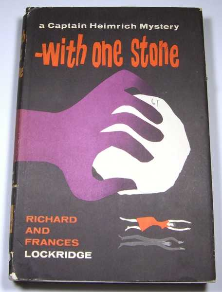 Image for With One Stone: A Captain Heimrich Mystery