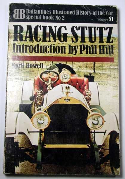 Image for Racing Stutz (Ballantine Illustrated History of the Car, Special Book No. 2)