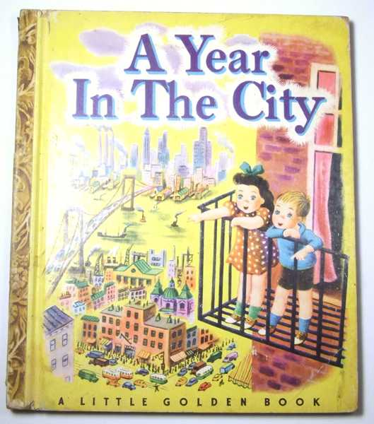 Image for A Year in the City (New York): A Little Golden Book