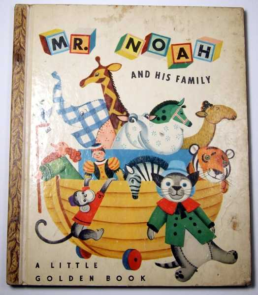 Image for Mr. Noah and His Family: A Little Golden Book