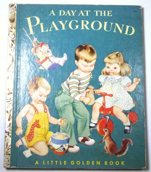Image for A Day at the Playground: A Little Golden Book