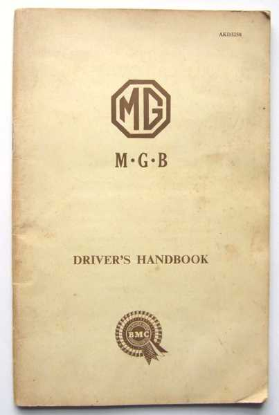Image for MG MGB Driver's Handbook