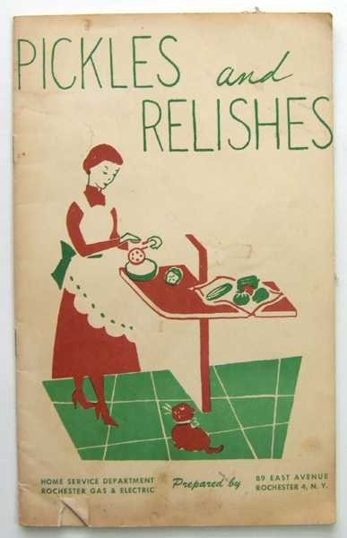 Image for Pickles and Relishes (Promotional Cook Book)
