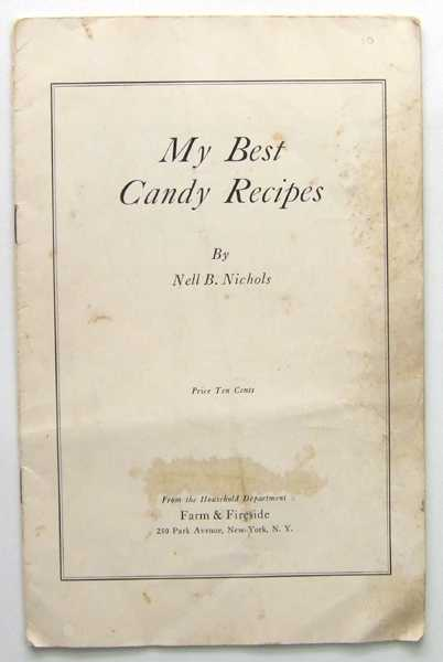 Image for My Best Candy Recipes